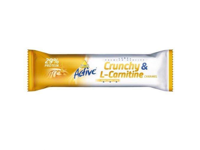 Active tyčinka crunchy l-carnitin karamel 35 g