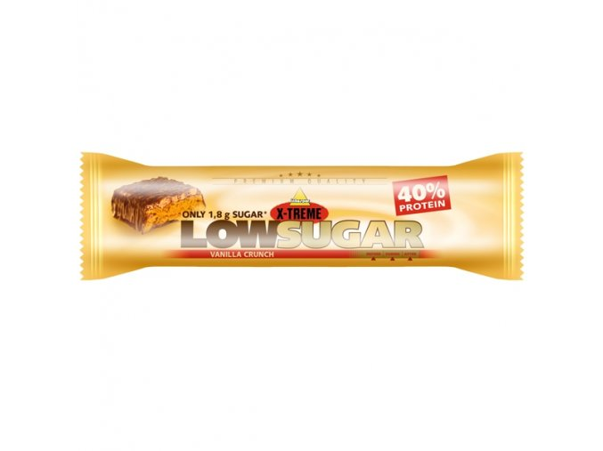 X-TREME Low sugar vanilka crunch 65 g