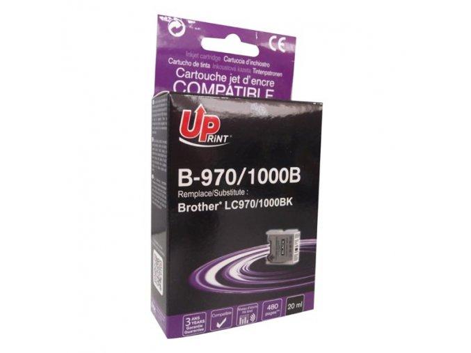 UPrint kompatibilní ink s LC-1000BK, black, 18ml, B-970B, pro Brother DCP-330C, 540CN, 130C, MFC-240C, 440CN
