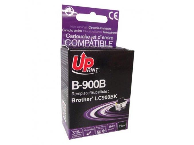 UPrint kompatibilní ink s LC-900BK, black, 21ml, B-900B, pro Brother DCP-110C, MFC-210C, 410C, 1840C, 3240C, 5440CN