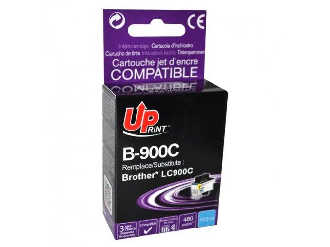 UPrint kompatibilní ink s LC-900C, cyan, 13,5ml, B-900C, pro Brother DCP-110C, MFC-210C, 410C, 1840C, 3240C, 5440CN