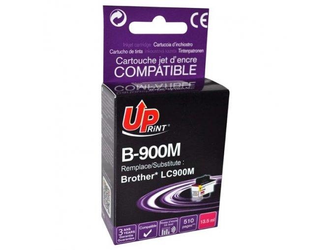 UPrint kompatibilní ink s LC-900M, magenta, 13,5ml, B-900M, pro Brother DCP-110C, MFC-210C, 410C, 1840C, 3240C, 5440CN