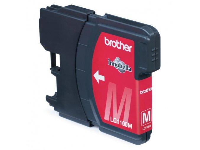 Brother originální ink LC-1100M, magenta, 325str., Brother DCP-6690CW, MFC-6490CW