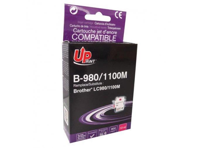 UPrint kompatibilní ink s LC-980M, magenta, 12ml, B-980M, pro Brother DCP-145C, 165C