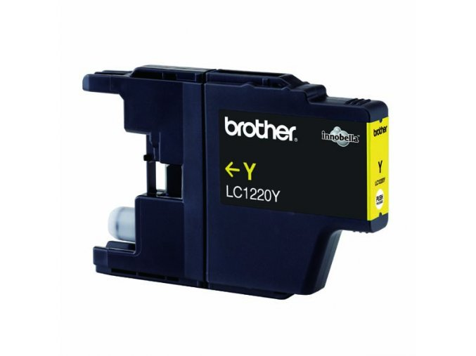 Brother originální ink LC-1220Y, yellow, 300str., Brother DCP-J925 DW