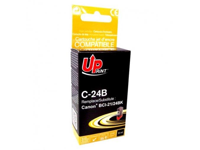 UPrint kompatibilní ink s BCI24BK, black, 9ml, C-24B, pro Canon S200, S300, i320, i450, MPC-200, 190