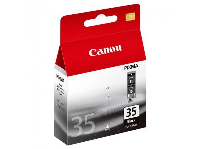 Canon originální ink PGI35BK, black, 191str., 9.3ml, 1509B001, Canon Pixma iP100