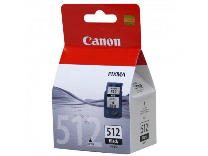Canon originální ink PG512BK, black, blistr s ochranou, 400str., 15ml, 2969B009, Canon MP240, 260