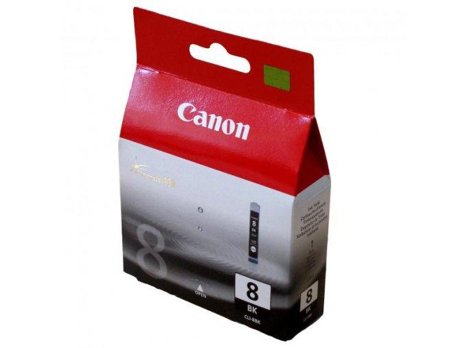 Canon originální ink CLI8BK, black, blistr s ochranou, 940str., 13ml, 0620B029, 0620B006, Canon iP4200, iP5200, iP5200R, MP500, MP