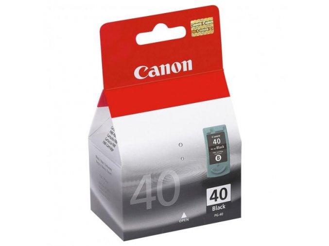 Canon originální ink PG40, black, blistr s ochranou, 490str., 16ml, 0615B042, 0615B006, Canon iP1600, 2200, MP150, 170, 450
