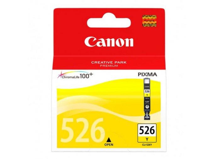 Canon originální ink CLI526Y, yellow, 9ml, 4543B001, Canon Pixma  MG5150, MG5250, MG6150, MG8150