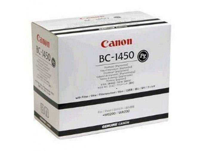 Canon originální tisková hlava BC1450, black, 8366A001, Canon W-6200, 8200P