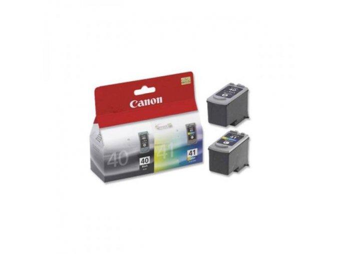 Canon originální ink PG40/CL41 multipack, black/color, 16,9ml, 0615B043, Canon 2-pack iP1600, 2200, MP150, 170, 450