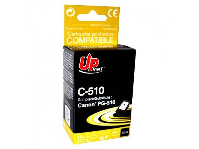 UPrint kompatibilní ink s PG510BK, black, 12ml, C-510B, pro Canon MP240, 260, 270, 480