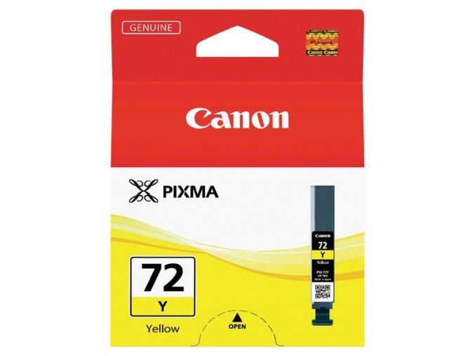 Canon originální ink PGI72Y, yellow, 14ml, 6406B001, Canon Pixma PRO-10