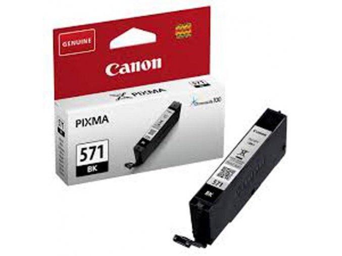 Canon originální ink 0385C001, black, 376str., 7ml, CLI571, 1ks, Canon PIXMA MG5750, MG5751, MG5752, MG5753, MG6851, MG68