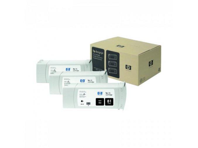 HP originální ink C4930A, HP 81, black, 680ml, HP DesignJet 5000, PS, UV, 5500, PS, UV