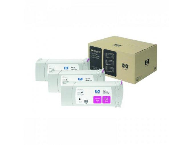 HP originální ink C4932A, HP 81, magenta, 680ml, HP DesignJet 5000, PS, UV, 5500, PS, UV