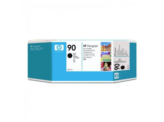 HP originální ink C5058A, HP 90, black, 400ml, HP DesignJet 4000, 4000ps, 4500