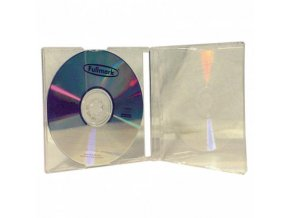 Box na 1 ks CD, průhledný, průhledný tray, 10 mm, 200-pack, cena za 1 ks