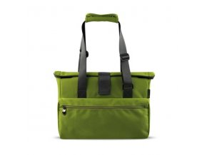 """Kabelka na notebook 15,6"""", MOVE LIFESTYLE BAG, zelená z polyesteru"""