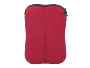 """Obal na tablet 7"""", červený z neoprénu"""
