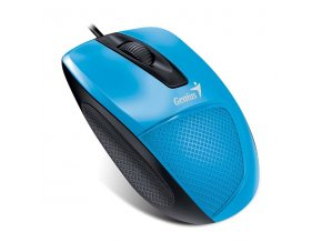 Genius Myš DX-150, 1200DPI, optická, 3tl., 1 kolečko, drátová USB, modrá, 31010231105