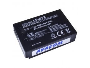 Avacom baterie pro Canon Li-Ion, 7.4V, 600mAh, 4.3Wh