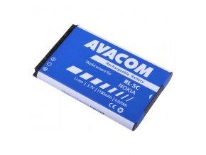 Avacom baterie pro Nokia Li-Ion, 3.7V, GSNO-BL5C-S1100A, 1100mAh, 4.1Wh
