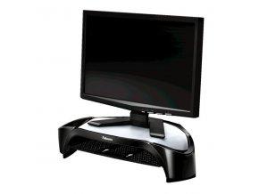 Podstavec Smart Suites pod monitor, závěsná police, černý, plast, 10 kg nosnost, Fellowes