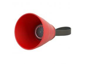 YZSY Bluetooth reproduktor SALI, 3W, červený, regulace hlasitosti, skládací, voděodolný