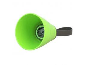 YZSY Bluetooth reproduktor SALI, 3W, zelený, regulace hlasitosti, skládací, voděodolný