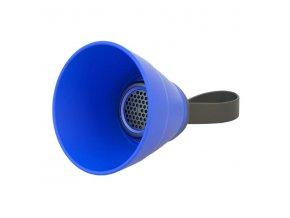 YZSY Bluetooth reproduktor SALI, 3W, modrý, regulace hlasitosti, skládací, voděodolný