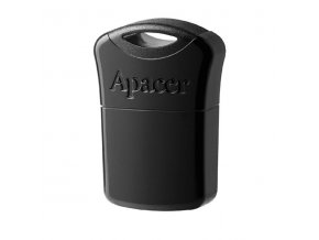 Apacer USB flash disk, 2.0, 16GB, AH116, černý, AP16GAH116B-1, s krytkou