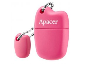 Apacer USB flash disk, 2.0, 16GB, AH118, růžový, AP16GAH118P-1, s krytkou