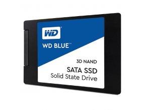 """Interní disk SSD Western Digital 2.5"""", SATA III, 500GB, WD Blue, WDS500G2B0A černý, 530 MB/s,560 MB/s"""