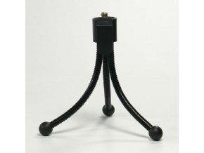 Držák fotoaparátu na stůl, černý, termoplast, Logo, 360 stupňů rotace