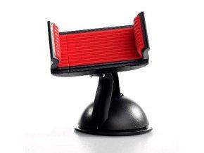 Držák mobilu(GPS) Swissten do auta, nastavitelná šířka, černý, plast, přísavka na sklo, kloubový, černá, mobil