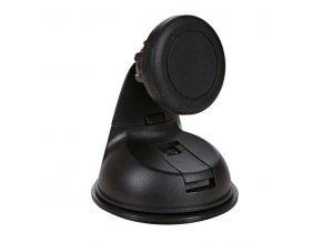 Magnetický držák mobilu(GPS) do auta, nastavitelná šířka, černý, plast, Swissten, přísavka na sklo, kloubový, černá, mobil