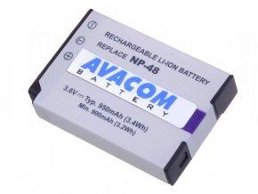 Fujifilm NP-48 Li-Ion 3.7V 950mAh 3.4Wh
