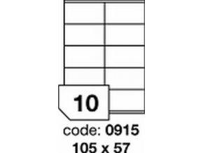 Etiketa 105x57 mm inkjet/laser/copy Office