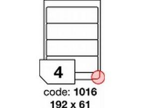 Etiketa 192x61 mm inkjet/laser/copy Office