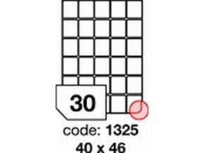 Etiketa 40x46 mm inkjet/laser/copy Office