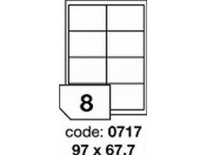 Etiketa 97x67.7 mm inkjet/laser/copy Office