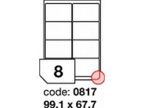 Etiketa 99.1x67.7 mm inkjet/laser/copy Office