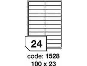 Etiketa 100x23 mm inkjet/laser/copy Office