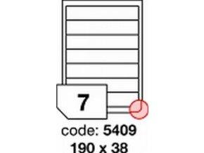 Etiketa 190x38 mm inkjet/laser/copy Office