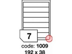 Etiketa 192x38 mm inkjet/laser/copy Office