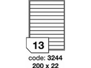 Etiketa 200x22 mm inkjet/laser/copy Office