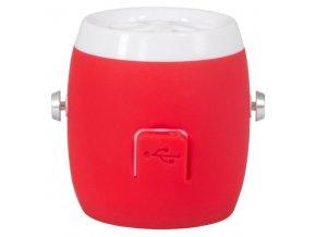 A4Tech reproduktor BTS-06, Li-Ion, 1.0, 3W, červený, regulace hlasitosti, přenosný, 100Hz-20kHz